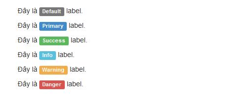 Hình ảnh label stylesheet option trong bootstrap 3