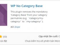 Xóa bỏ Catelogy trong đường dẫn của WordPress
