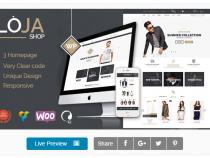 "Share theme ""Loja – Responsive WooCommerce Theme"""