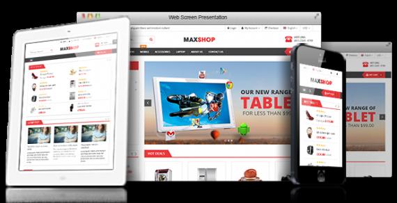 Share theme Maxshop V2.0.2 – Theme bán hàng cực đẹp