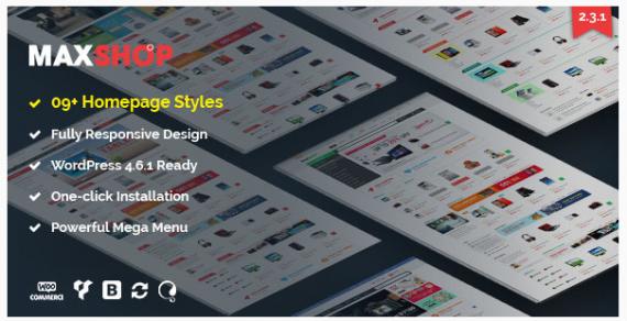 Share theme Maxshop V2.3.1 – Theme bán hàng cực đẹp
